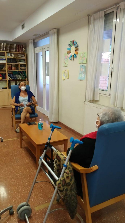Visita en la Residencia y Centro de Día Ozanam Nuestra Señora del Carmen