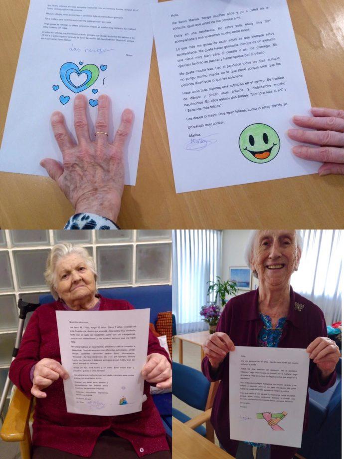 Cartas para nuestros mayores