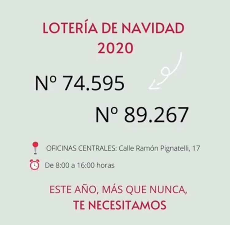 Lotería Ozanam 2020
