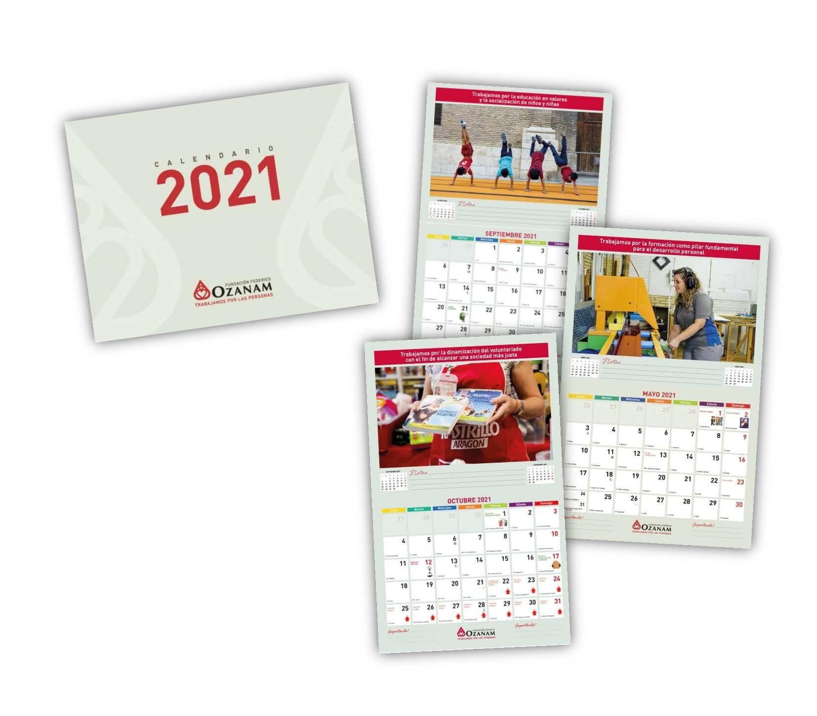 Calendario Ozanam 2021