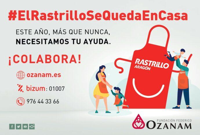 Campaña Rastrillo Aragón 2020